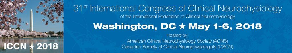 International Congress of Clinical Neurophysiology (ICCN) 2018 - международный конгресс по нейрофизиологии